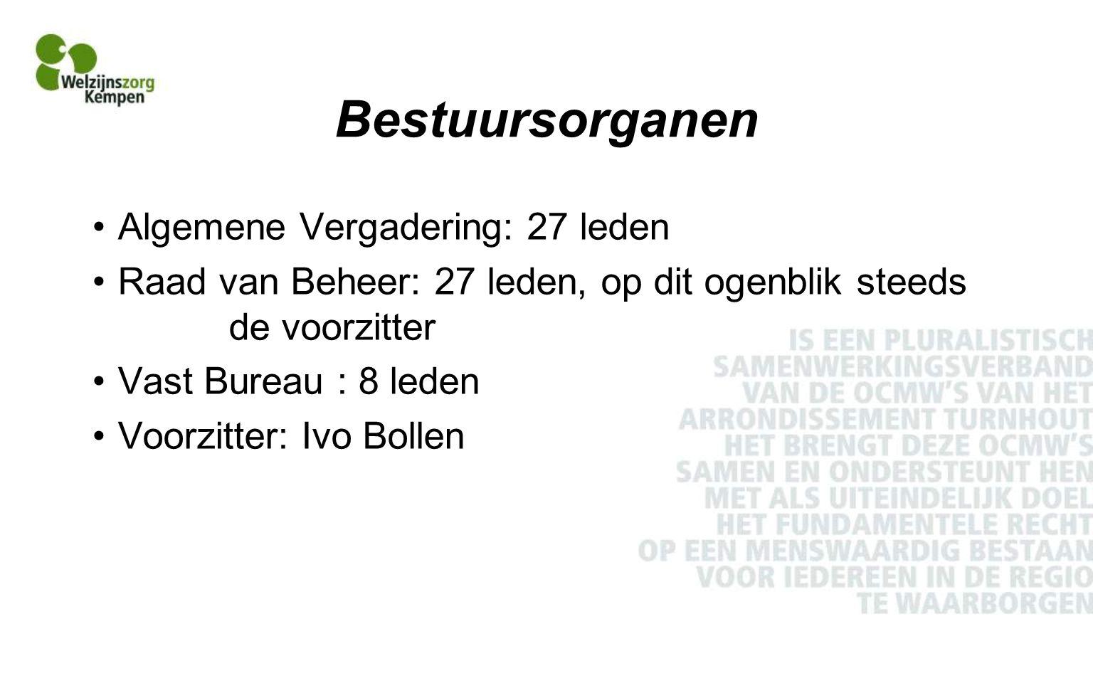 Werking in de private sector Centrum voor Geestelijke Gezondheidszorg Kempen - Geel, Herentals, Hoogstraten en Turnhout - Aandeel OCMW- cliënteel: 9% itt 6% De Sprong, sociale tewerkstelling De Voorsprong, lokale diensteneconomie Kind in Nood Kempen, antennedienst kindermishandeling Vertrouwenscentrum Kindermishandeling Antwerpen