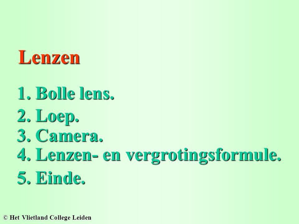 Lenzen Lenzen 1. Bolle lens. 1. Bolle lens. © Het Vlietland College Leiden