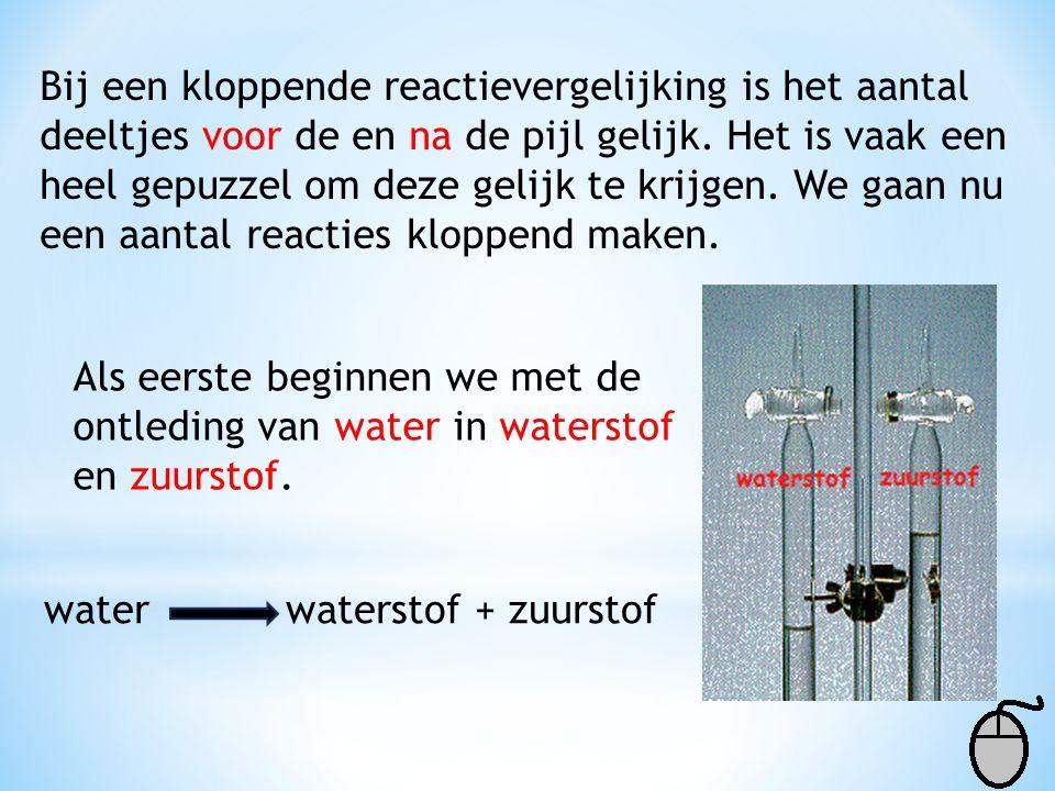 Afdeling Scheikunde – College Den Hulster - Venlo