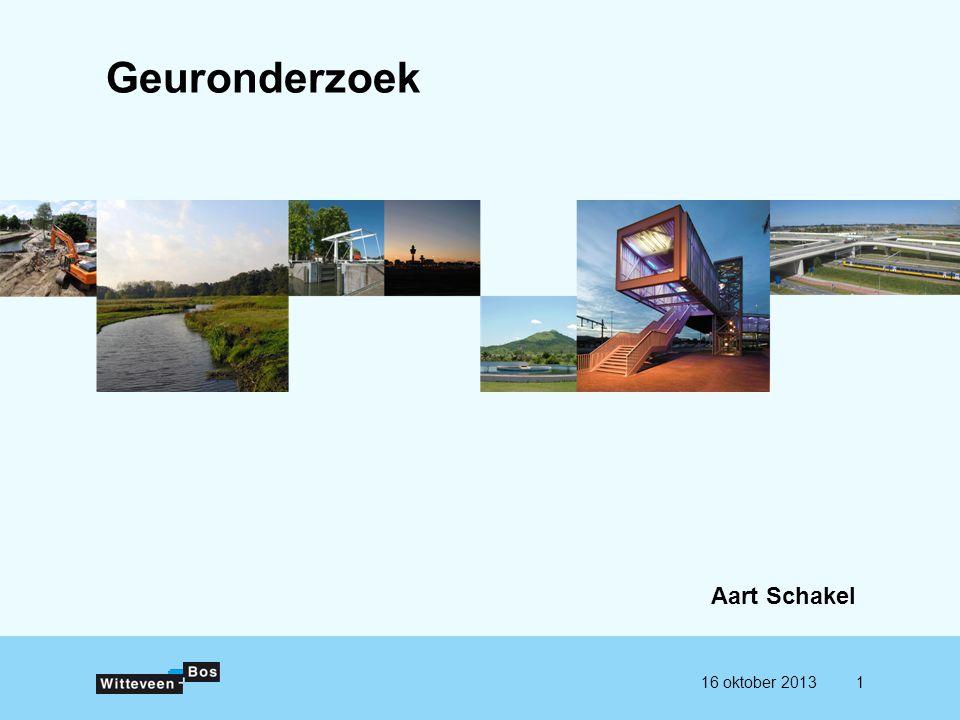 Geuronderzoek Aart Schakel 16 oktober 20131
