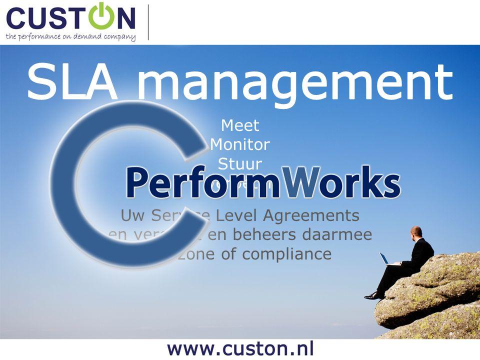Meet Monitor Stuur Verbeter Uw Service Level Agreements en vergroot en beheers daarmee uw zone of compliance