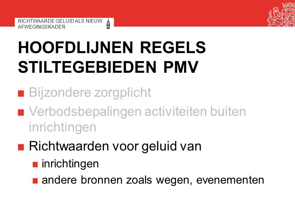 DEFINITIE EN DOEL RICHTWAARDE Definitie: milieukwaliteitseis uit Wet milieubeheer: grens- en richtwaarden.