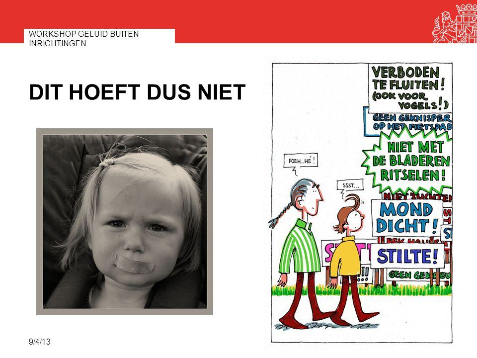 TER AFSLUITING Doorverwijzen en afstemmen gemeente  provincie  VRU Denk ook aan Flora- en faunawet Net buiten stiltegebied: geen verbod, wel richtwaarde Vragen.