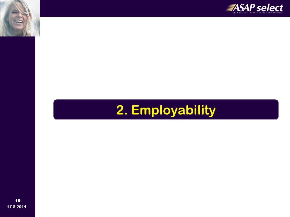 10 17-8-2014 2. Employability