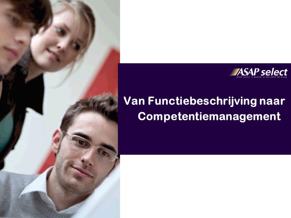 33 17-8-2014 2.Competenties -Klantgerichtheid -Flexibel -Luistervaardigheid -Stressbestendigheid -Onderhandelingsvaardigheid 3.