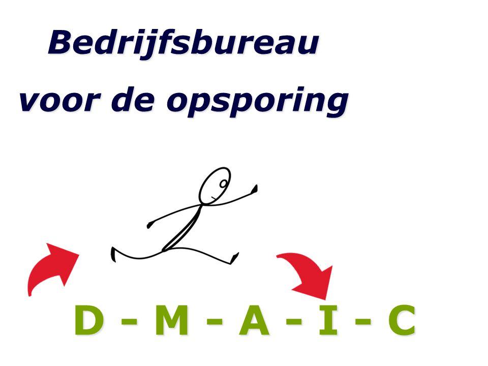 Bedrijfsbureau voor de opsporing D - M - A - I - C