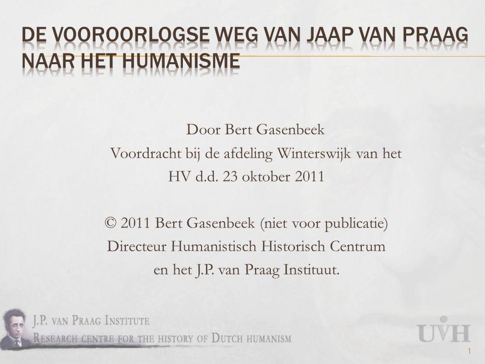 Door Bert Gasenbeek Voordracht bij de afdeling Winterswijk van het HV d.d.
