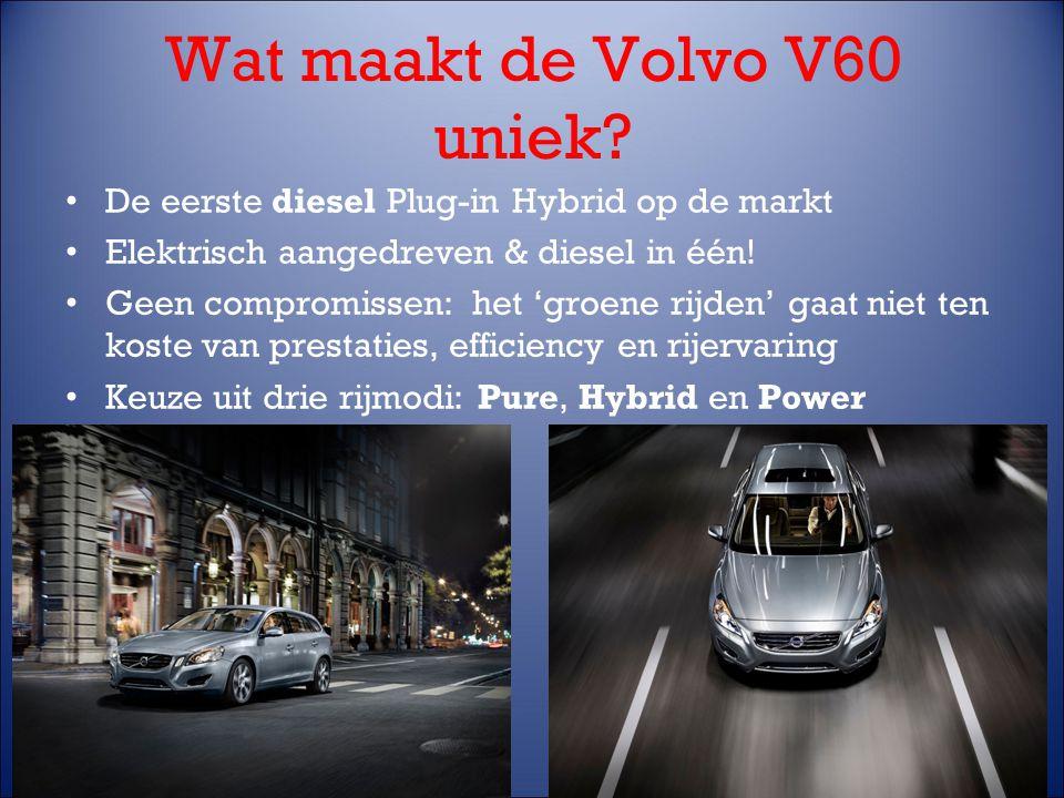 Wat maakt de Volvo V60 uniek.