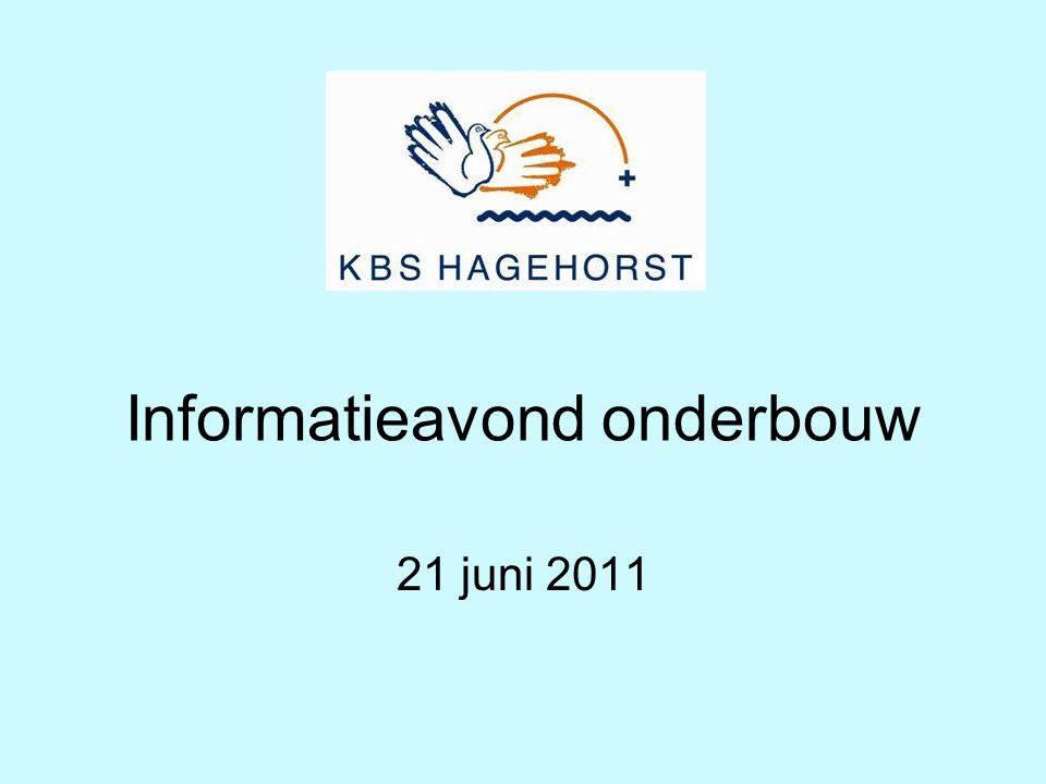 Informatieavond onderbouw 21 juni 2011