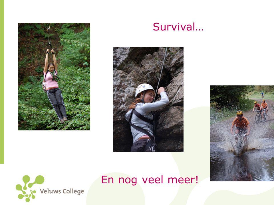 Survival… En nog veel meer!