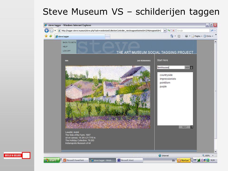 Steve Museum VS – schilderijen taggen