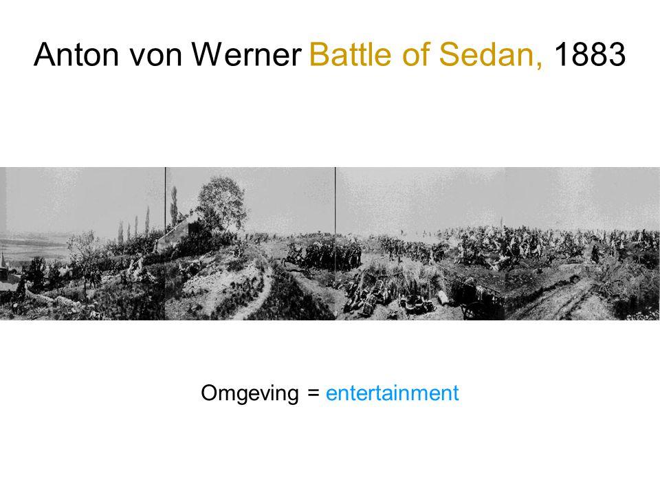 Anton von Werner Battle of Sedan, 1883 Omgeving = entertainment