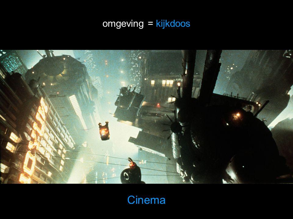 omgeving = kijkdoos Cinema
