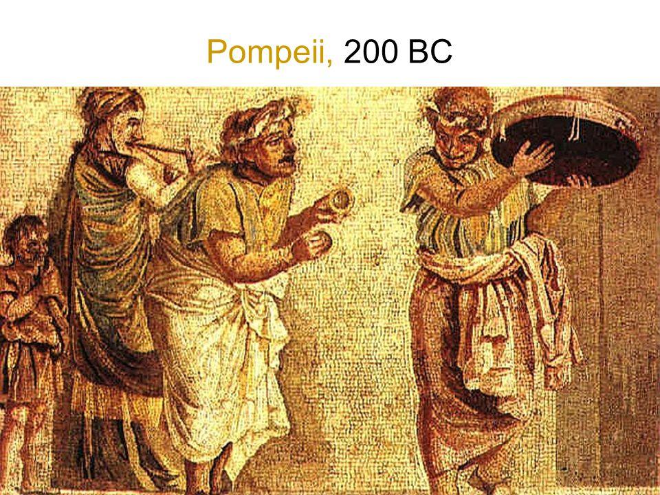 Pompeii, 200 BC