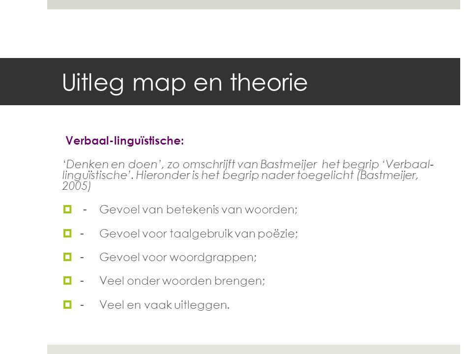 MI Logische/mathematische 'Beredeneren en doen', zo omschrijft van Bastmeijer het begrip 'logische/mathematische'.