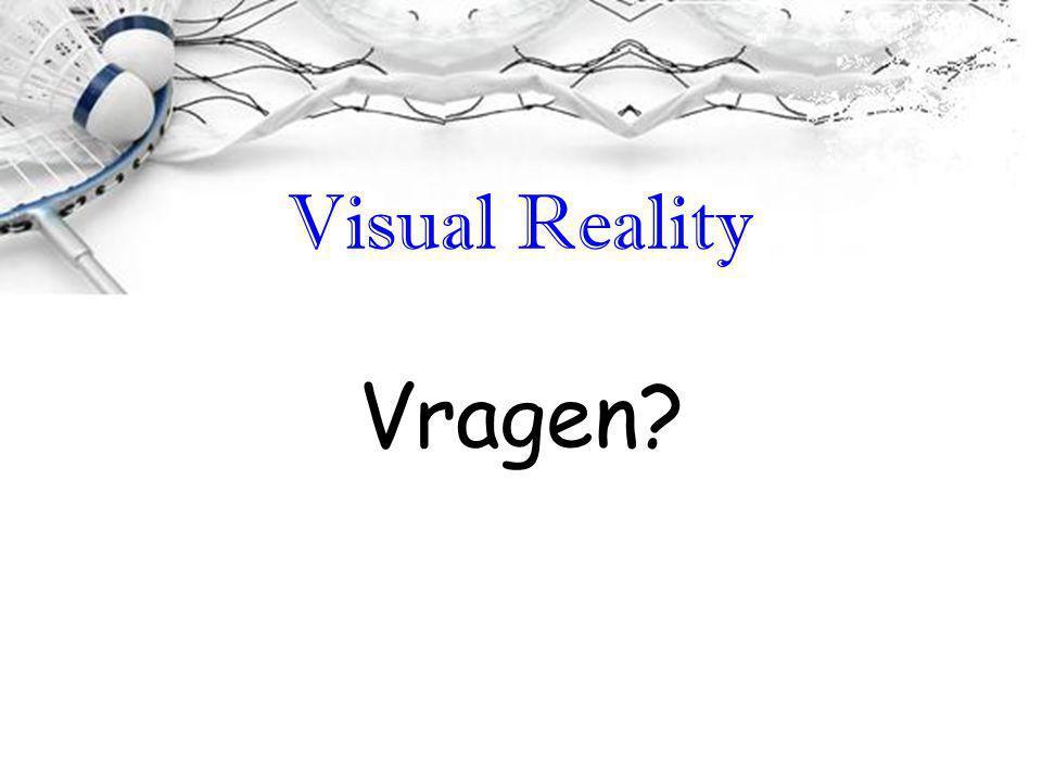 Visual Reality Vragen