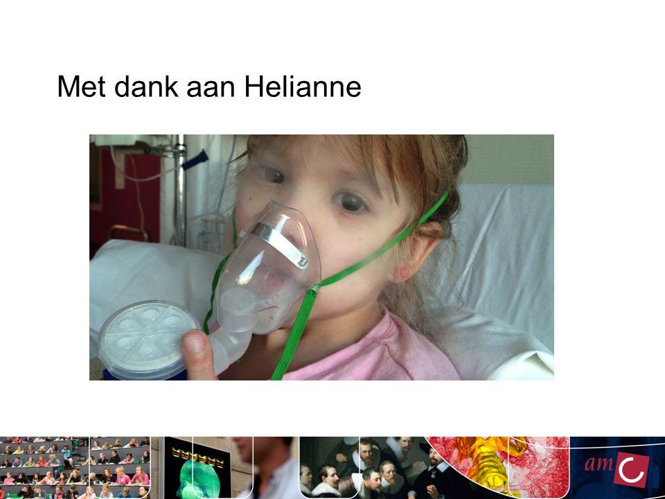 Met dank aan Helianne