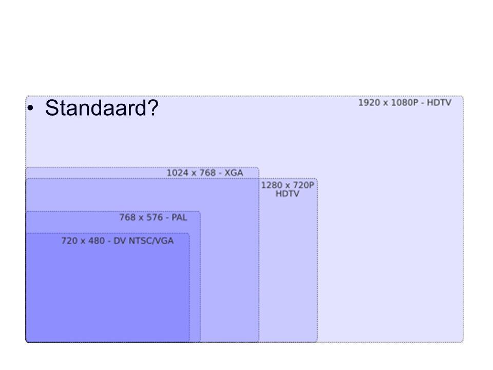 Standaard?