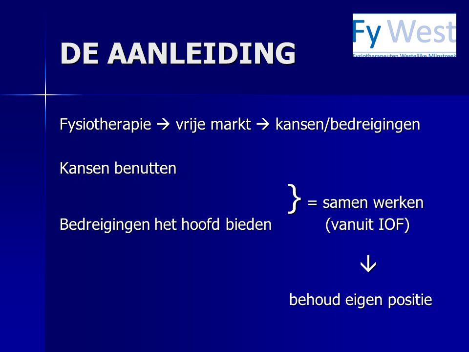 DOELSTELLINGEN (2008) o Op 1 december 2008 zullen verkennende gesprekken gevoerd zijn met relevante zorginstellingen in W-M, w.b.