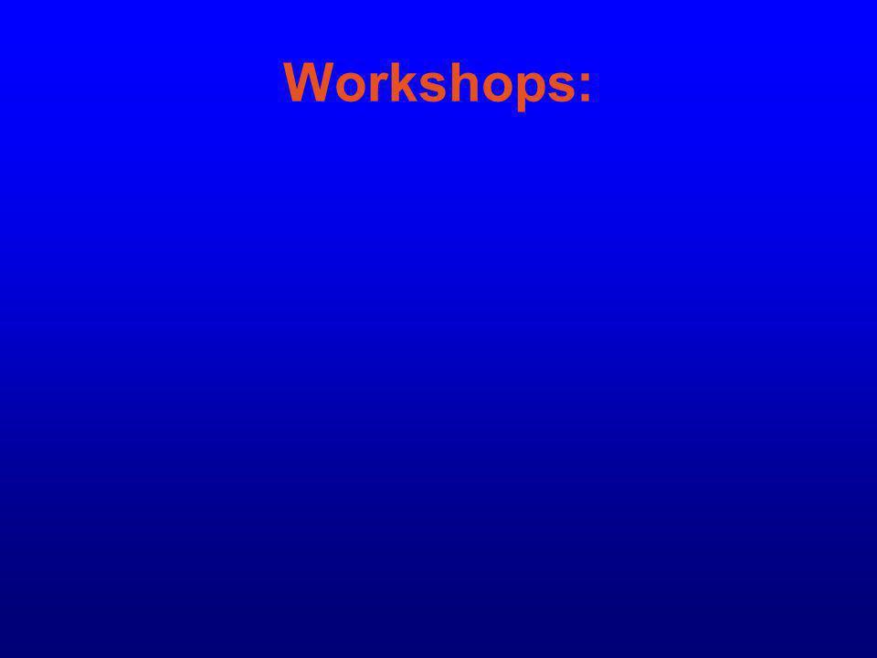 Workshops: