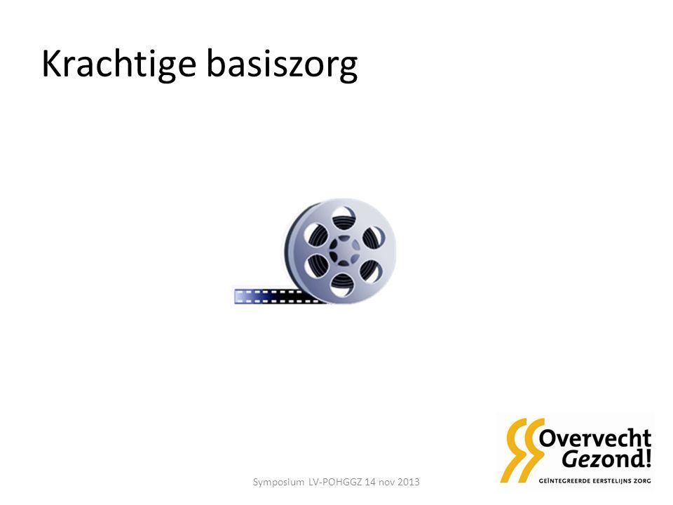 Krachtige basiszorg Symposium LV-POHGGZ 14 nov 2013