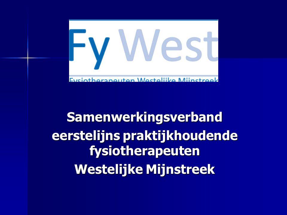Samenwerkingsverband eerstelijns praktijkhoudende fysiotherapeuten Westelijke Mijnstreek