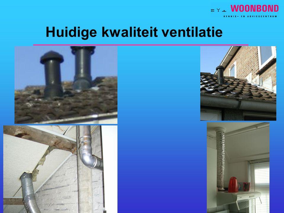 11 Huidige kwaliteit ventilatie