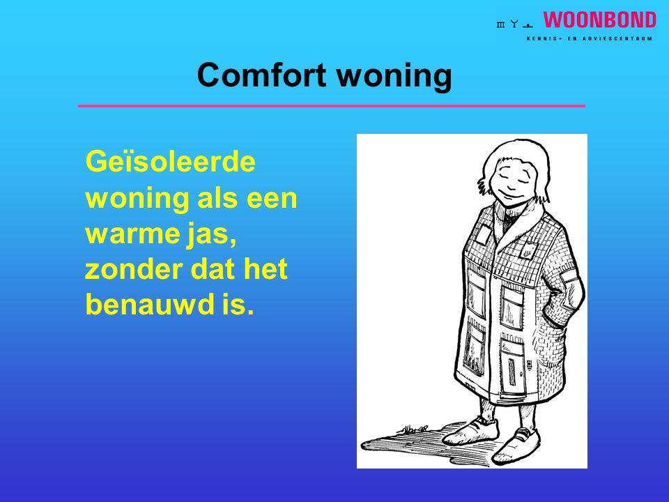 Comfort woning Geïsoleerde woning als een warme jas, zonder dat het benauwd is.