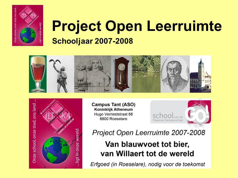 Project Open Leerruimte Schooljaar 2007-2008