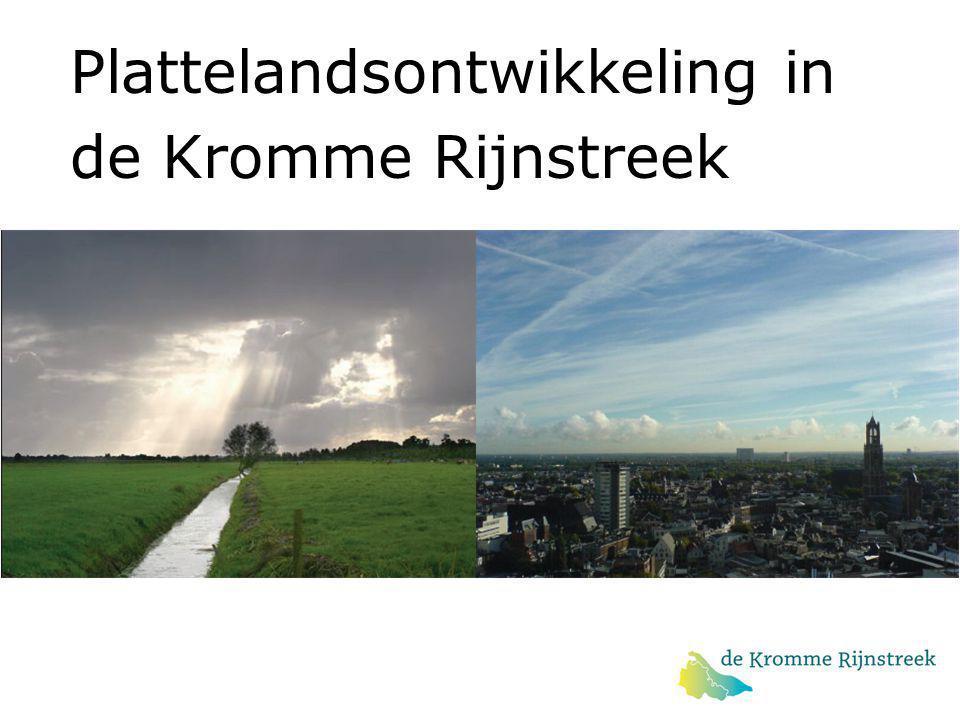 Plattelandsontwikkeling in de Kromme Rijnstreek