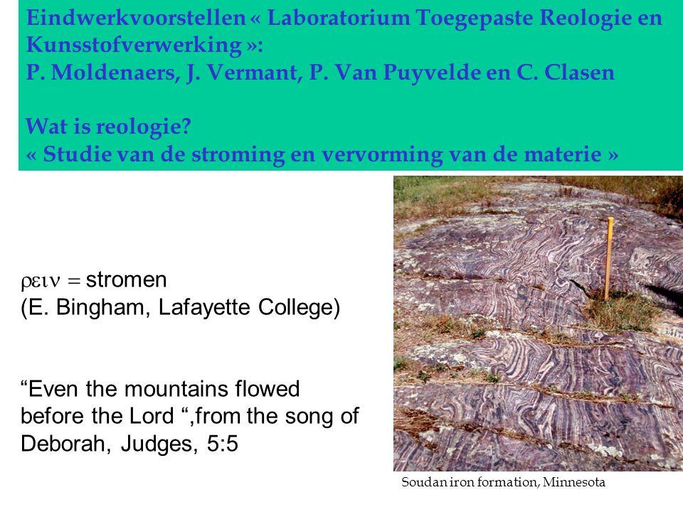 Eindwerkvoorstellen « Laboratorium Toegepaste Reologie en Kunsstofverwerking »: P.