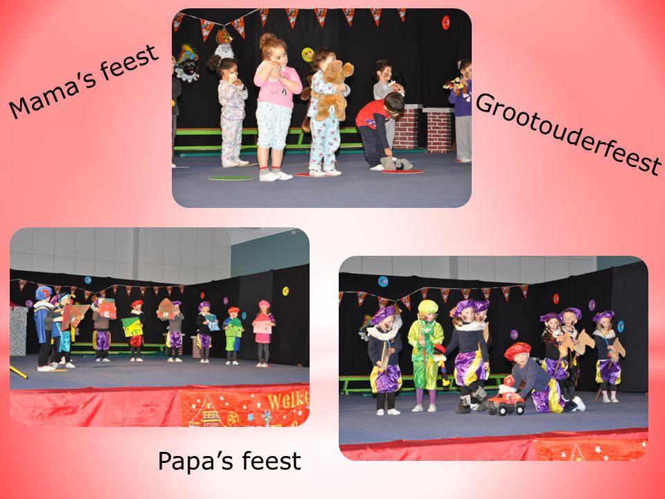 Mama's feest Papa's feest Grootouderfeest