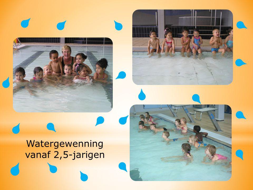 Watergewenning vanaf 2,5-jarigen