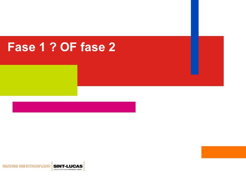 Fase 1 ? OF fase 2
