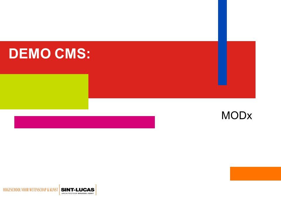 DEMO CMS: MODx