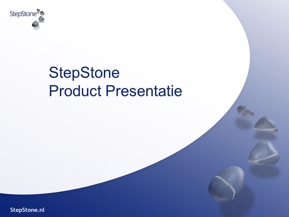 StepStone.nl StepStone Product Presentatie