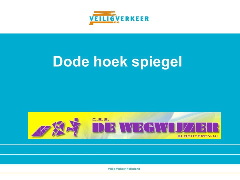 Dode hoek spiegel Veilig Verkeer Nederland
