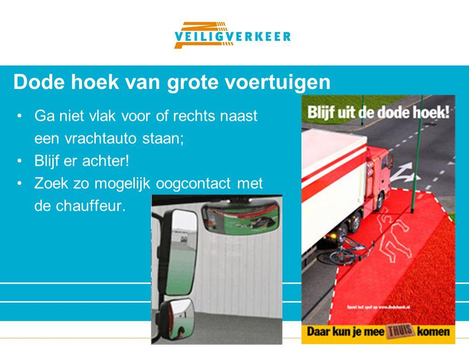 Veilig Verkeer Nederland Houd rekening met uw dode hoek tijdig controleren op veilig inhalen ver vooruit en in spiegels kijken als laatste je dode hoek controleren door over je schouder te kijken denk ook aan raamstijl
