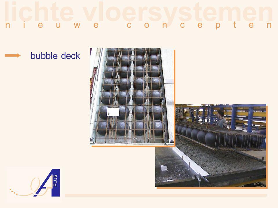 lichte vloersystemen n i e u w e c o n c e p t e n bubble deck
