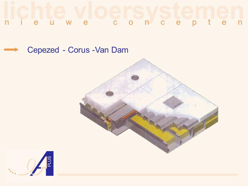 lichte vloersystemen n i e u w e c o n c e p t e n Cepezed - Corus -Van Dam