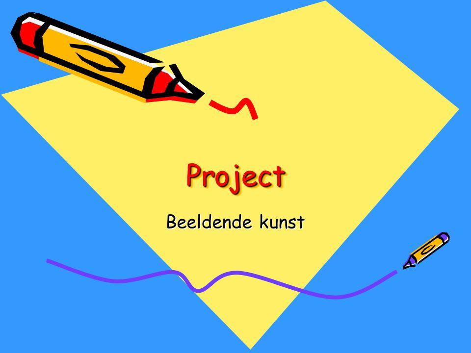 ProjectProject Beeldende kunst