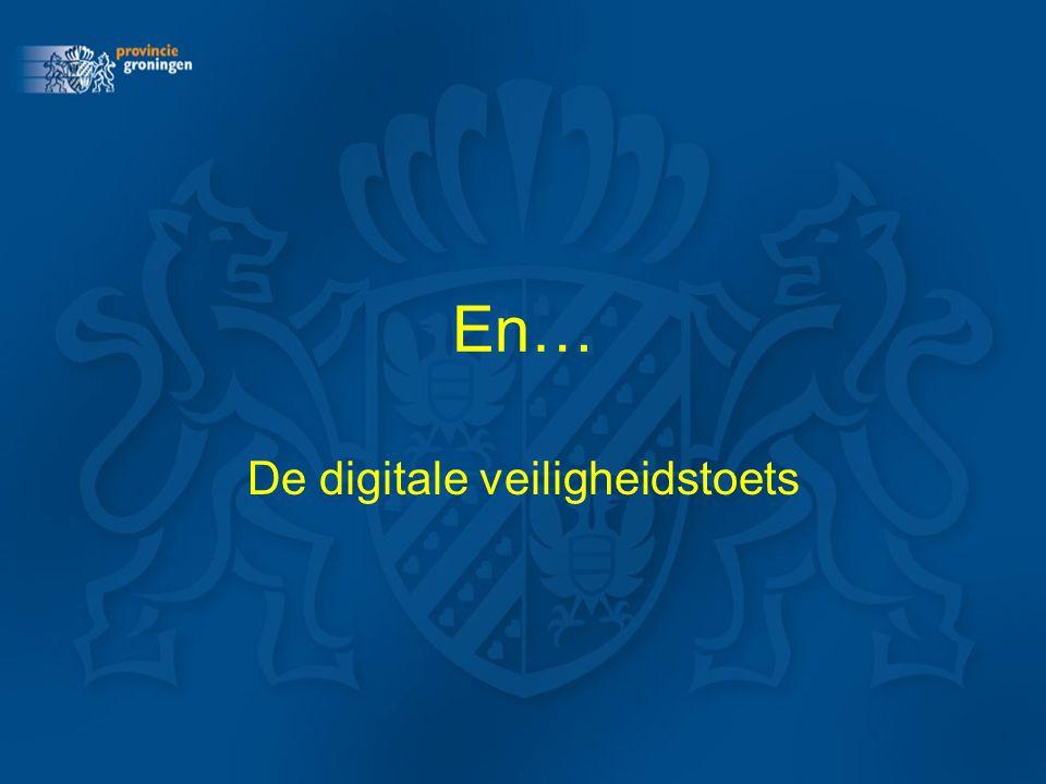 En… De digitale veiligheidstoets