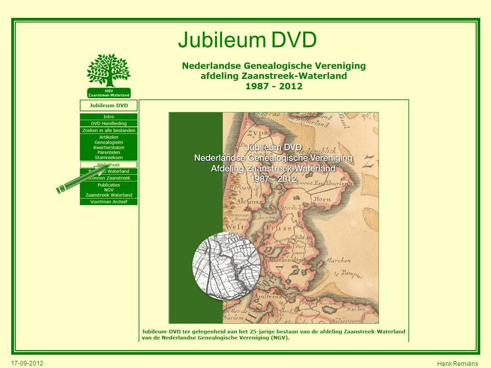 17-09-2012 Henk Remiëns Jubileum DVD