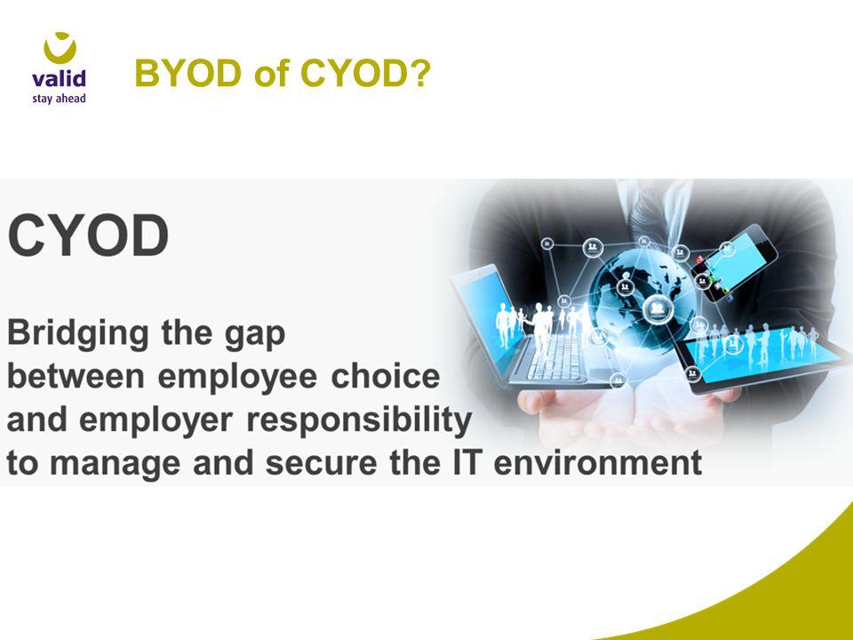 BYOD of CYOD