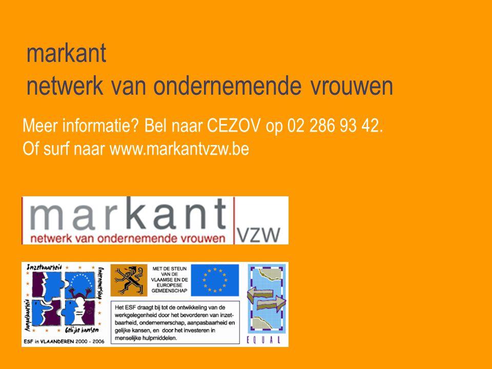 markant netwerk van ondernemende vrouwen Meer informatie.