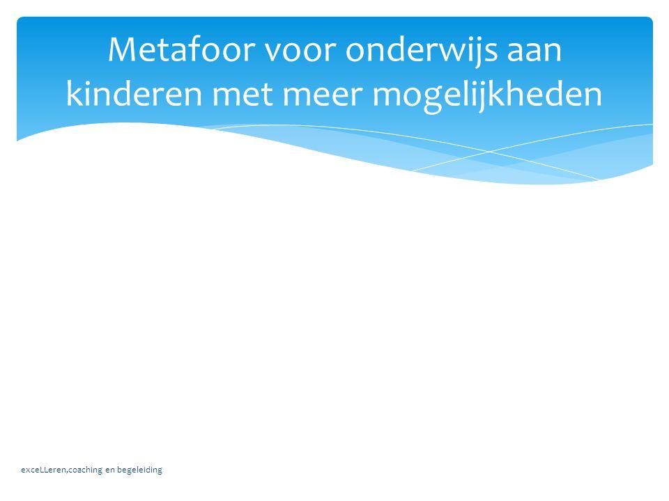 Metafoor voor onderwijs aan kinderen met meer mogelijkheden