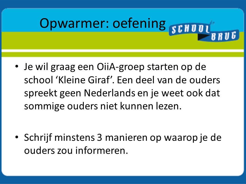 KAAP vs OiiA In Antwerpen in 2009: 12 scholen – 15 KAAPgroepen Structureel samenwerkingsverband: CVO's, CBE Antwerpen, Huis van het Nederlands, AOBA, De Schoolbrug Bekendheid binnen scholen groeit