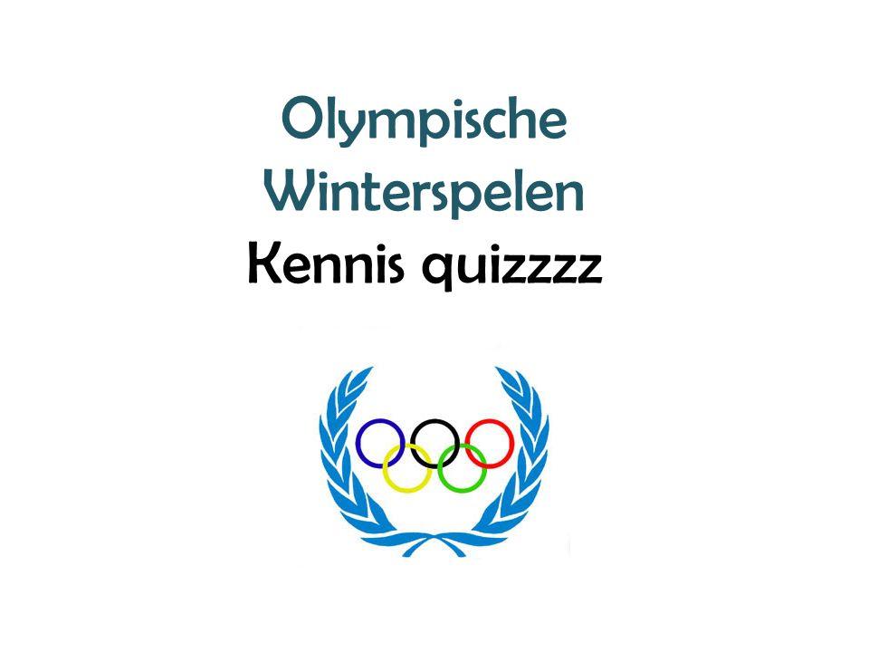 Olympische Winterspelen Kennis quizzzz
