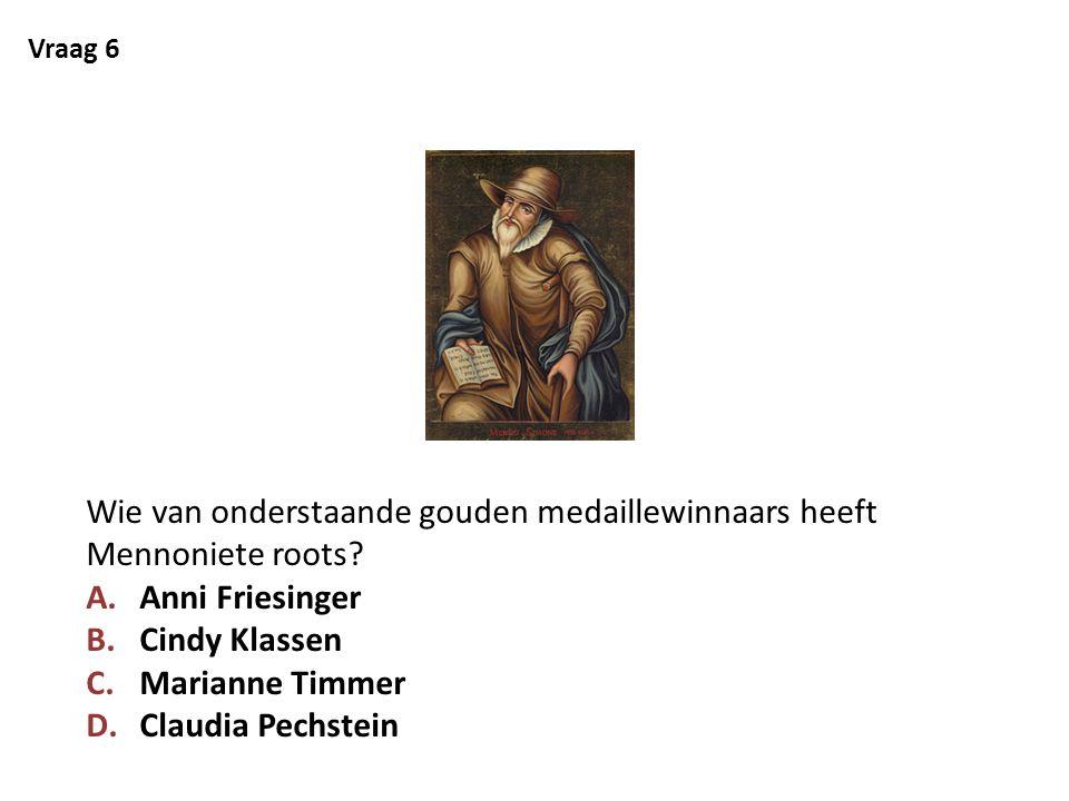 Vraag 7 Bij welke Olympische winterspelen werden voor Nederland de meeste medailles gehaald.