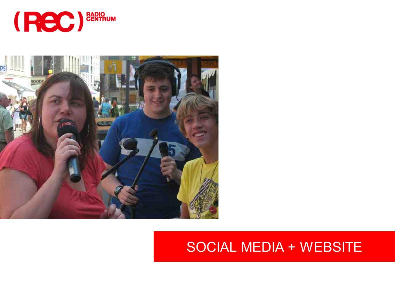 SOCIAL MEDIA + WEBSITE